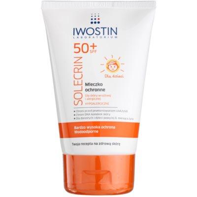 Iwostin Solercin schützende Hautmilch für Kinder SPF 50+