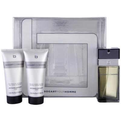 Jacques Bogart Bogart Pour Homme Gift Set I.  Eau De Toilette 100 ml + Aftershave Balm 100 ml + Shower Gel 100 ml