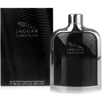 Jaguar Classic Black Eau de Toilette voor Mannen