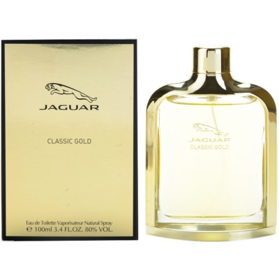 Jaguar Classic Gold Eau de Toillete για άνδρες