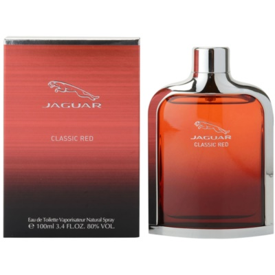 Jaguar Classic Red Eau de Toilette para homens