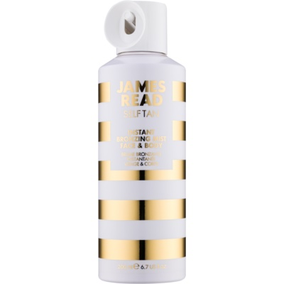 James Read Self Tan spray bronzant effet instantané