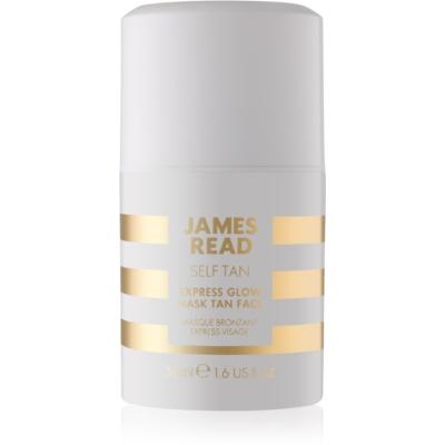 James Read Self Tan masque visage auto-bronzant effet instantané