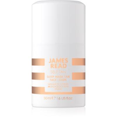 James Read Self Tan нічна маска для обличчя для автозасмаги