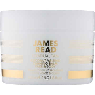 James Read Gradual Tan Self Tanning Body and Face Lotion with Coconut Oil