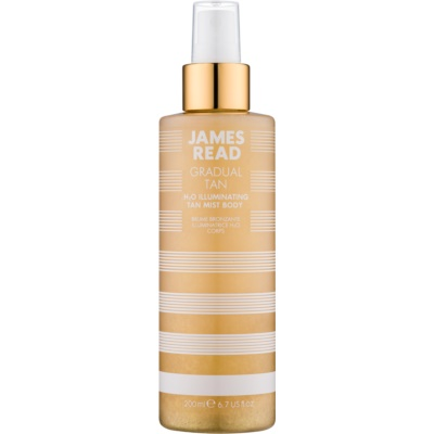 James Read Gradual Tan H2O Illuminating önbarnító permet testre