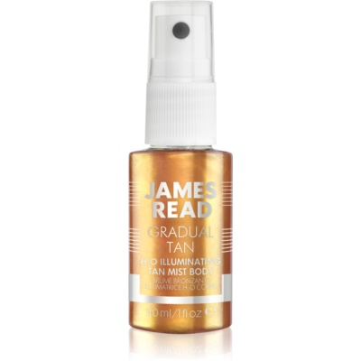 James Read Gradual Tan H2O Illuminating автобронзираща мъгла за тяло