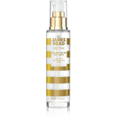 James Read Self Tan aceite seco autobronceador