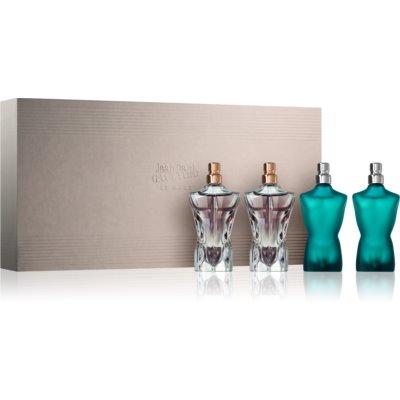 Jean Paul Gaultier Mini Le Male set cadou  Apa de Toaleta 2 x 7 ml + Eau de Parfum 2 x 7 ml