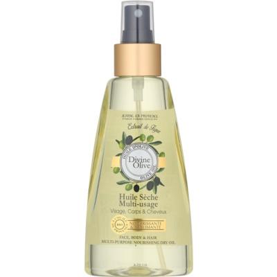 Jeanne en Provence Divine Olive Droge Olie  voor Gezicht, Lichaam en Haar