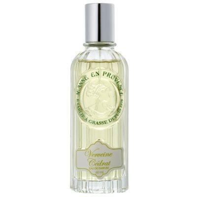 Jeanne en Provence Verveine Cédrat парфумована вода для жінок 60 мл