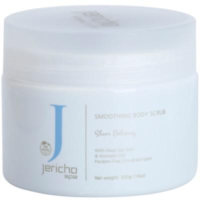 Jericho Body Care SPA scrub energizzante al sale con estratti marini e oli essenziali
