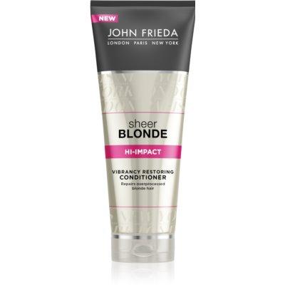John Frieda Sheer Blonde Regenerating Conditioner for Blonde Hair  250 ml