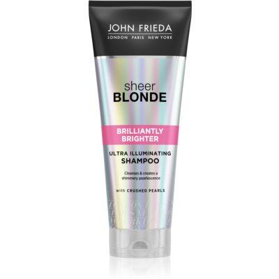 šampon za zaščito blond barve las z bisernim sijajem