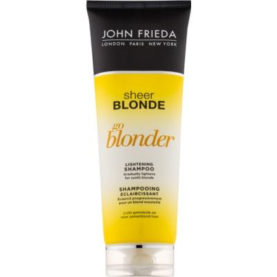 Aufhellendes Shampoo für blonde Haare