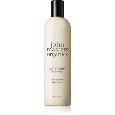 John Masters Organics Lavender & Avocado acondicionador intensivo para cabello seco y dañado