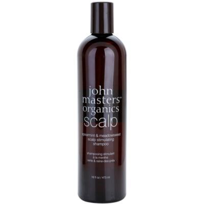 champô estimulante para couro cabeludo saudável