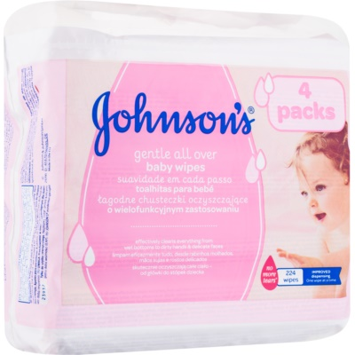 Johnson's Baby Diapering lingettes