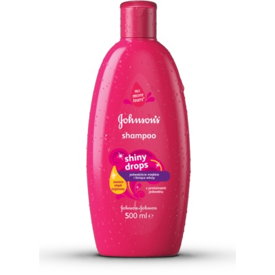 Johnson's Baby Shiny Drops Kids Shampoo  met Arganolie