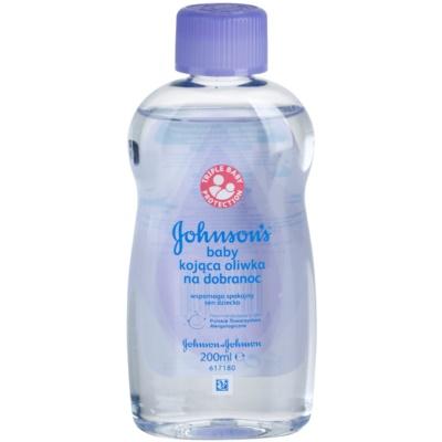 Johnson's Baby Care huile corps bébé pour un bon sommeil
