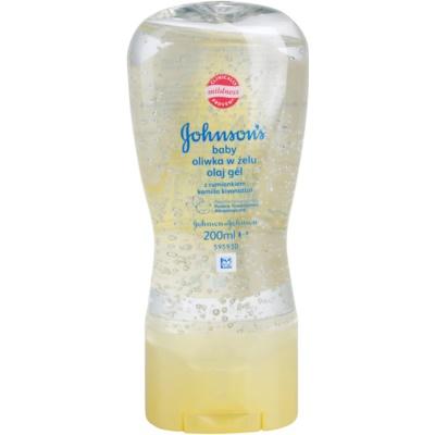 Johnson's Baby Care aceite gel para bebés con manzanilla