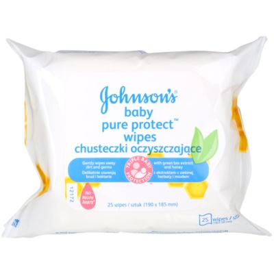 Johnson's Baby Pure Protect Wet Wipes for Kids