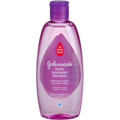 Johnson's Baby Wash and Bath beruhigendes Shampoo mit Lavendel