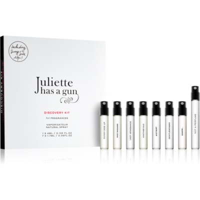 Juliette has a gun Discovery set cadou Not a Perfume, Mmmm..., Anyway, Sunny Side Up, Gentlewoman, Mad Madame, Lady Vengeance, Another Oud