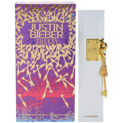 Justin Bieber The Key eau de parfum per donna