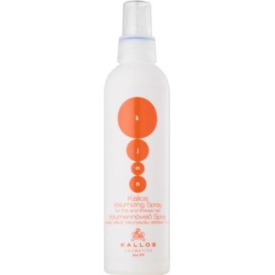 sprej pro objem jemných vlasů