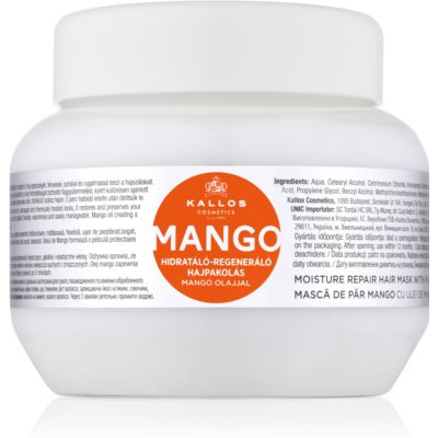 Fortifying Mask With Mango Oil