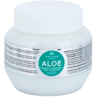 hydratačná maska  s aloe vera
