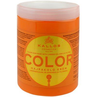 maska pro barvené vlasy