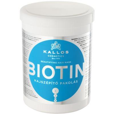 Kallos KJMN masque pour cheveux fins, fragiles et cassants