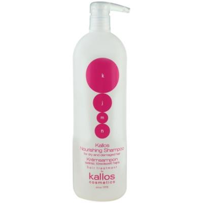 Shampoo mit ernährender Wirkung für trockenes und beschädigtes Haar