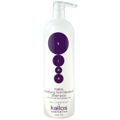 stärkendes Shampoo gegen Schuppen