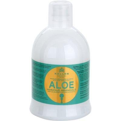 obnovujúci šampón s aloe vera