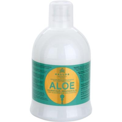 szampon odbudowujący włosy z aloesem