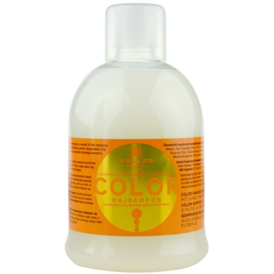 šampon pro barvené a citlivé vlasy