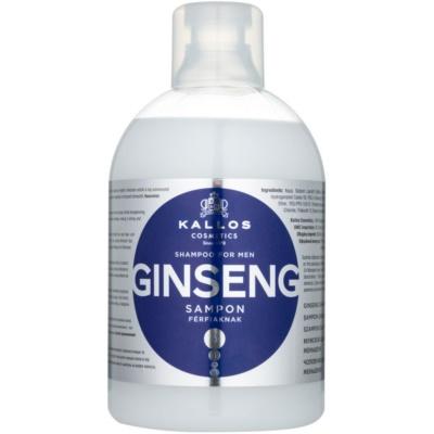 Kallos KJMN shampoo met ginseng voor mannen