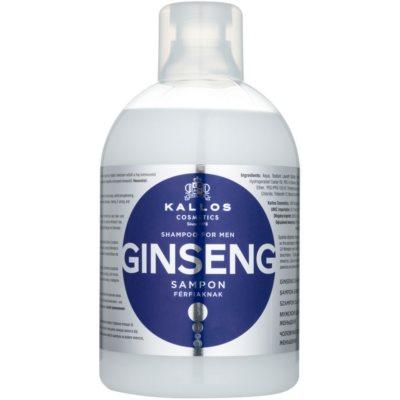 Herrenshampoo mit Ginseng