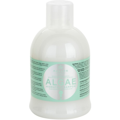 hydratačný šampón s výťažkom z rias a olivovým olejom