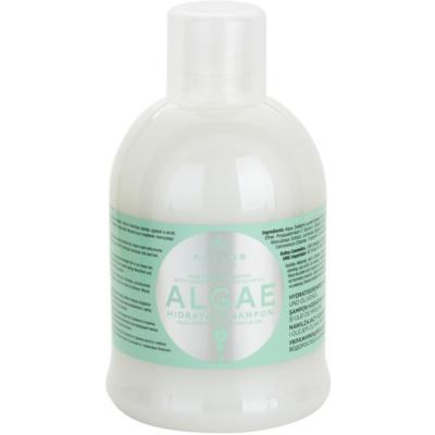 hydratační šampon s výtažkem z řas a olivovým olejem