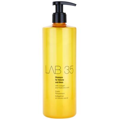 šampon pro objem a lesk