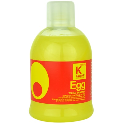 champô nutritivo para cabelo seco e normal