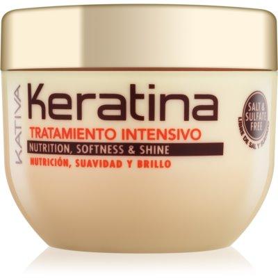 KATIVA Keratina Mascarilla para reforzar el cabello en profundidad  250 ml