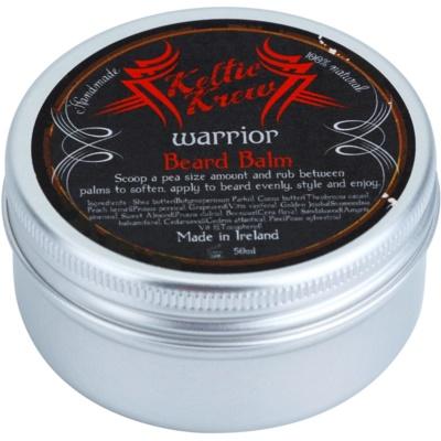 Keltic Krew Warrior balzam za bradu s mirisom sandalovine