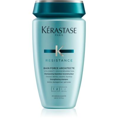 šampon s posilujícími účinky pro oslabené a lehce poškozené vlasy