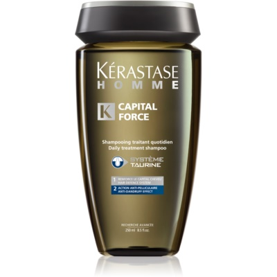 Kérastase Homme Capital Force shampoo per uomo antiforfora e anticaduta