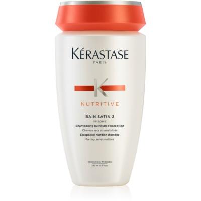 Kérastase Nutritive Bain Satin 2 Nährende Shampoo für normales bis starkes, mitteltrockenes Haar
